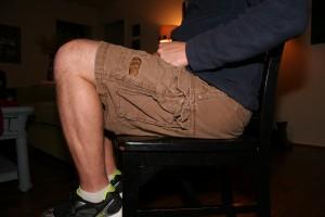 knees too high