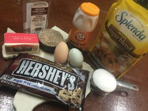 No Flour Chocolate Chip Cookie Ingredients