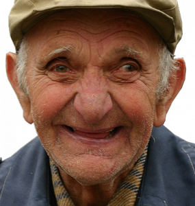 Picture of Happy Elderly man smiling