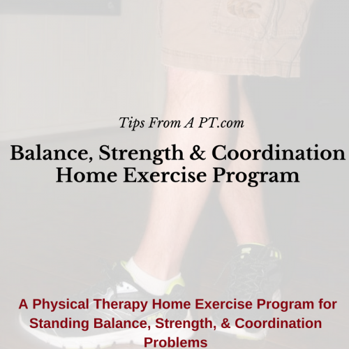 General Balance, Strength & Coordination HEP